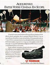 Publicité Advertising 1992 Le Camescope VM 88 Thomson