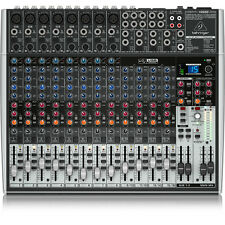 Behringer Xenyx X2222USB 22-Input USB Audio Mixer Recording Interface w/ Effects