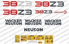 NEUSON 38Z3 DIGGER DECALS STICKER SET