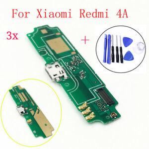 Original For Xiaomi Redmi 4A Micro USB Charging Port Mic Flex Cable Connector