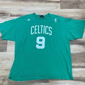 Adidas NBA Boston Celtics Rajon Rondo Mens XL Green T Shirt Short Sleeve