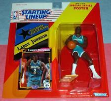1992 LARRY JOHNSON Charlotte Hornets UNLV Rebels NM/MINT Rookie Starting Lineup