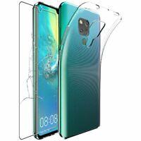 Coque Huawei Mate 20 X 20X 5G Etui Housse Silicone ULTRA FINE + VERRE Trempé