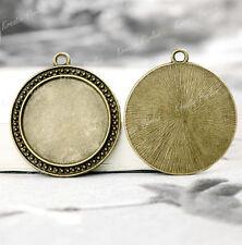 Runde Modeschmuck-Anhänger aus Bronze