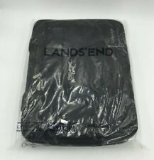 Lands End Black Business Briefcase Laptops bag Embroidered W/ Chesapeake Bank