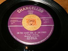 FRANKIE AVALON - ON THE SUNNY SIDE OF THE STREET - FOR  / LISTEN - TEEN POPCORN