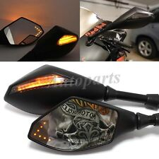 LED TURN SIGNAL SIDE MIRRORS For HONDA CBR600RR 2003 2011 CBR 1000 RR 2004