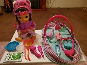 Hasbro Baby Alive Doll With Accessories