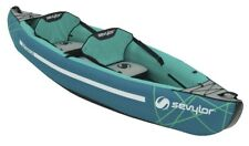 Sevylor Kayak Waterton Inflatable Boat 2 Persons Rubber Dinghy Familienkajak