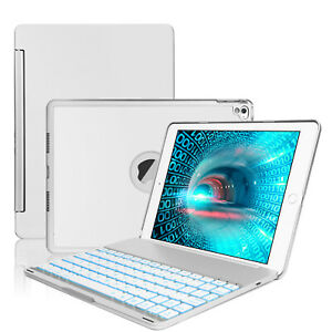 """For iPad 5/6/7/8th Gen 9.7"""" 10.2"""" Air 1/2/3/ Smart Case With Backlight Keyboard"""