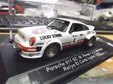 PORSCHE 911 Carrera SC RALLY CORTE INGLES #4 Perez Lucky rimodellamento based Ixo 1:43