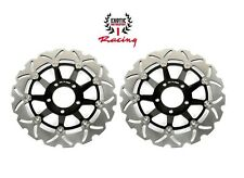 Front Brake Disc Rotors Set For Suzuki GSX 600 F Katana 1989 /2003 Wave Rotors