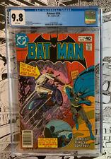 BATMAN #326     CGC 9.8!!     White pages     DC 1980     Batman #326    CGC 9.8