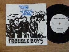 "THIN LIZZY  -  TROUBLE BOYS     rare  1981  UK 7""     very good plus     ROCK"