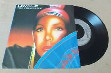 "LEVEL 42 the chinese way 7"" VINYL RECORD POSP 538"