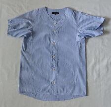 COMME des GARCONS HOMME PLUS Baseball Stripes Cotton Men's Shirt M