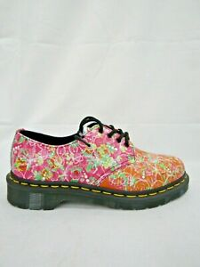 1461 Dr. Martens Smooth Print Leather Oxford Shoes Size 6