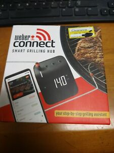 Weber 3201 Connect Smart Grilling Hub - Black-DISCOUNT-NEW-BBQ
