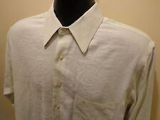 Etienne Aigner Men's Designer L/S Light Green Dress Shirt 16 1/2 32-33