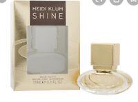 HEIDI KLUM SHINE EAU DE TOILETTE SPRAY 15 Ml-0.5 Oz NEW IN BOX SEALED