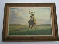 FINEST PETER DARRO PAINTING REALISM NATURE WILDLIFE LANDSCAPE REALISM LARGE OIL