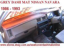 DASH MAT, DASHMAT,DASHBOARD COVER FIT NISSAN NAVARA,PATHFINDER 1986 -1993,  GREY