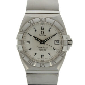 Gents Omega Constellation Double Eagle Perpetual Calendar 15113000
