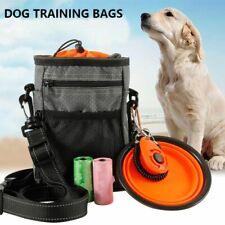 Dog Training Bag Portable Multi Function Adjustable Waist Belt Folding Bowl Kit