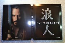 New and Sealed Steelbook 47 Ronin Bluray Italian Edition Region B
