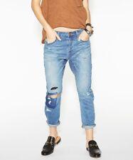 One Teaspoon Boyfriend Jeans 23 Trashed Saints Pacifica Distressed Baggies
