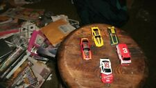 Tyco Nascar Hardees #28 and other Race Car Slot cars and parts Lot