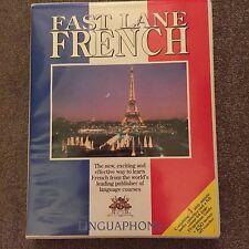 Linguaphone Fast Lane French 4x Cassettes Used VGC !