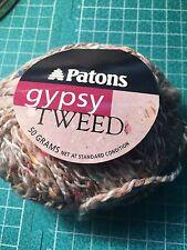 DISCONTINUED PATONS GYPSY TWEED - ARAN WEIGHT - WOOL BLEND YARN - MULTI CLR 8295