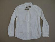 J. Crew Women's Jeweled Point-Collar Shirt White Size 10 NWT $148