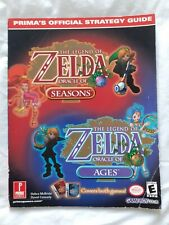 The Legend of Zelda Oracle of Seasons / Ages Official Strategy Guide by Prima