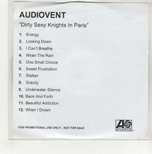 (GF539) Audiovent, Dirty Sexy Knights In Paris - DJ CD