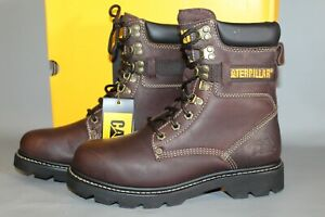"Men's CAT Indiana #P71866 Size 14 Medium 8"" Steel Toe Work Boot"