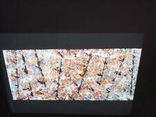 "Jackson Pollock ""Blue Poles 1952"" Abstract Art 35mm Slide"