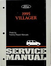 1995 Mercury Villager Factory Service Manual  Original Ford Mini-Van Shop Repair