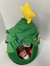 New listing Christmas Tree Bed For Cat Or Dog 24� Tall Fluffy With 3 Pet Toys Included Fun