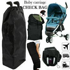 Waterproof Travel Bag Pushchair Buggy Umbrella Stroller Cover Pram Gate Check UK