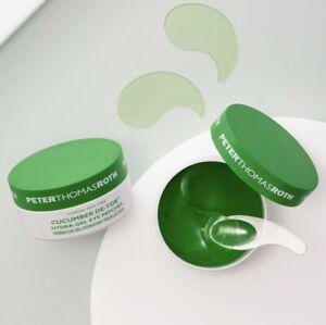 PETER THOMAS ROTH Cucumber De-Tox Hydra-Gel EYE PATCHES #60 ~ Exp. 12/2023