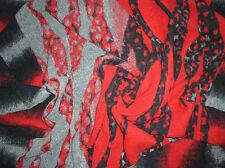 Walk mit mehreren Motiven in Schwarz, Grau & Rot hochwertig und auffallend schön