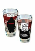 The Shining All Work and No Play 16 oz Pint Glass