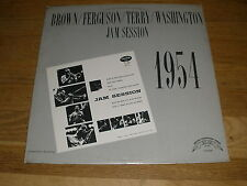 BROWN FERGUSON TERRY WASHINGTON jazz jam session 1954 LP Record - Sealed