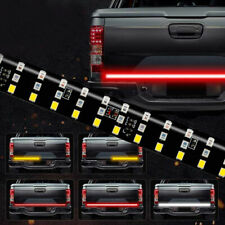 60in 3-Row 432 LED Truck Tailgate Light Bar Strip Reverse Brake Signal Tail Lamp