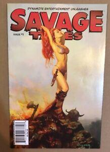SAVAGE TALES #1 SUYDAM COVER NM