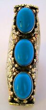 Tibetan Silver and Turquoise Fashion Ring