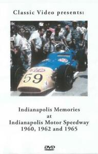 Indianapolis Memories 1960 1962 1965 Indy500 Practice Foyt Hurtubise Eddie Sachs
