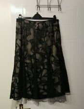 M&S lace effect skirt 14